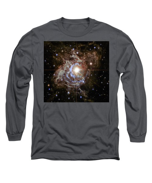 Long Sleeve T-Shirt featuring the photograph Light Echoes by Marco Oliveira