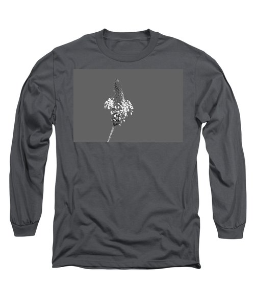 Light Grey Plantain Long Sleeve T-Shirt