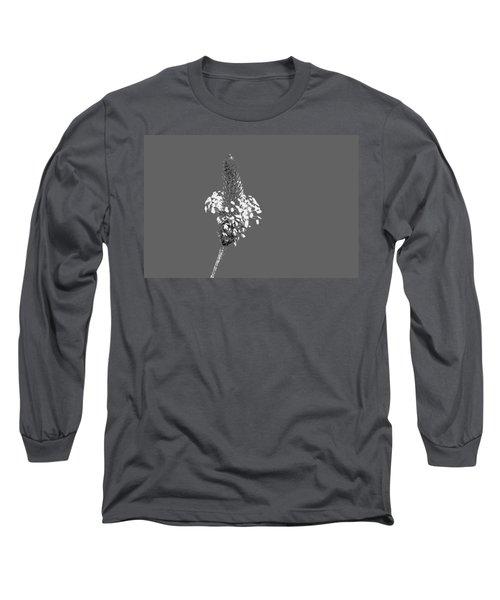 Light Grey Plantain Long Sleeve T-Shirt by Richard Patmore