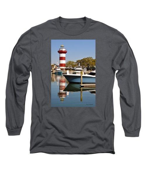 Light In The Harbor Long Sleeve T-Shirt by Kay Lovingood