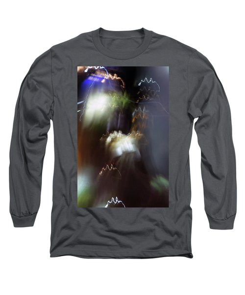 Light Paintings - No 4 - Source Energy Long Sleeve T-Shirt