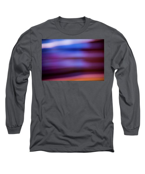 Long Sleeve T-Shirt featuring the photograph Violet Dusk by Shara Weber