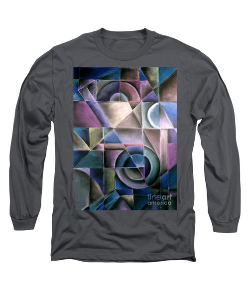 Light Patterns 1 Long Sleeve T-Shirt
