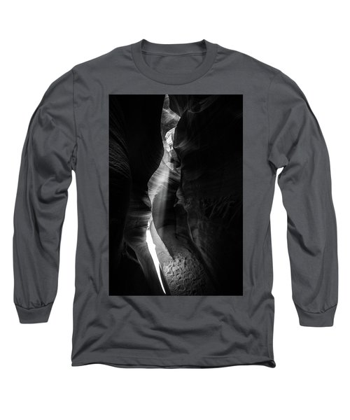 Light Shaft In Lower Antelope Canyon Long Sleeve T-Shirt