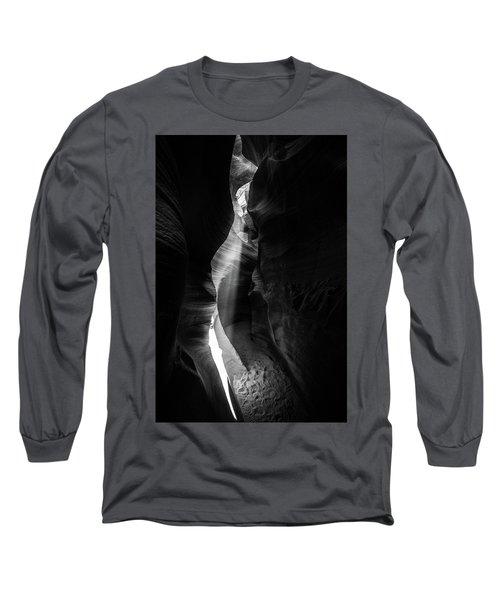 Light Shaft In Lower Antelope Canyon Long Sleeve T-Shirt