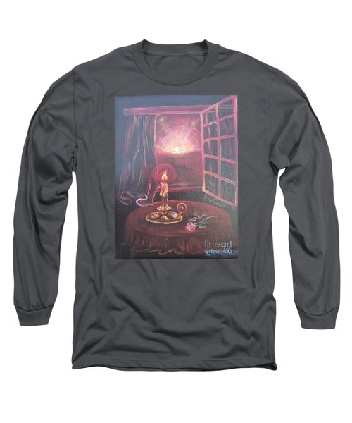 Flying Lamb Productions      Light The Yes Candle Long Sleeve T-Shirt