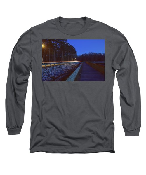 Light Trails On Elbow Road Long Sleeve T-Shirt