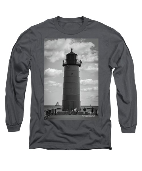Lighthouses Of Milwaukee Long Sleeve T-Shirt
