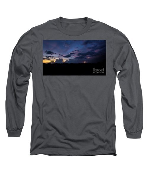 Lightning Sunset Long Sleeve T-Shirt