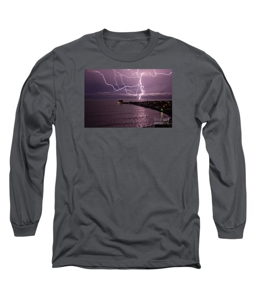 Lightning Up The Night Long Sleeve T-Shirt