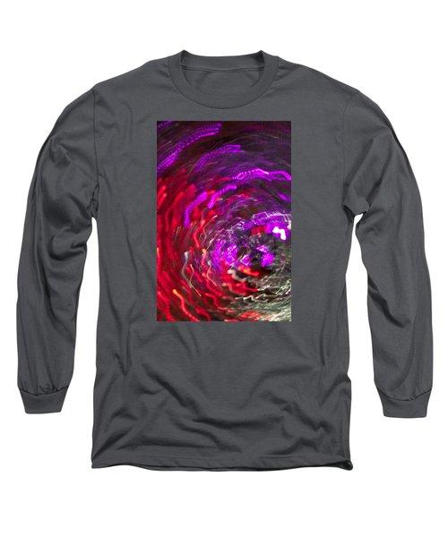 Lights Long Sleeve T-Shirt by Roseann Errigo