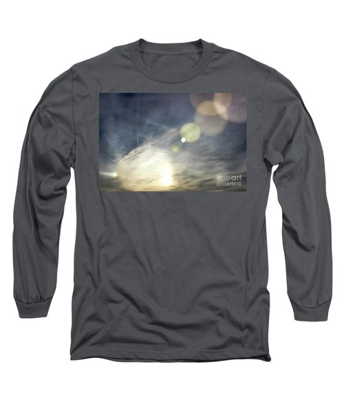 Long Sleeve T-Shirt featuring the photograph Lightshow by Colleen Kammerer