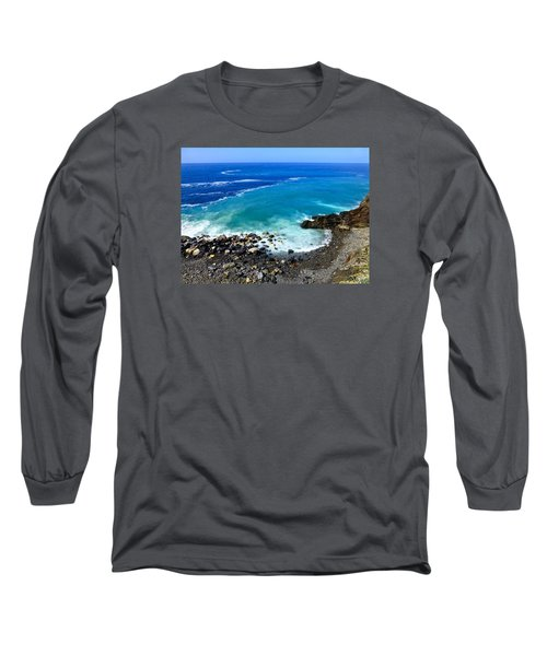 Ligurian Coastline Long Sleeve T-Shirt
