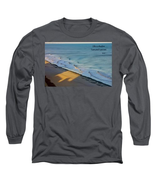 Long Sleeve T-Shirt featuring the photograph Like A Shadow by Rhonda McDougall