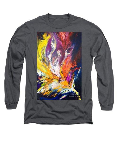 Like Fire In The Wind Long Sleeve T-Shirt