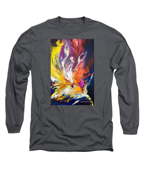 Like Fire In The Wind Long Sleeve T-Shirt