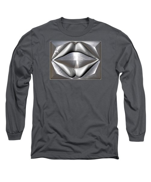 ' Like Kissing Stainless ' Long Sleeve T-Shirt