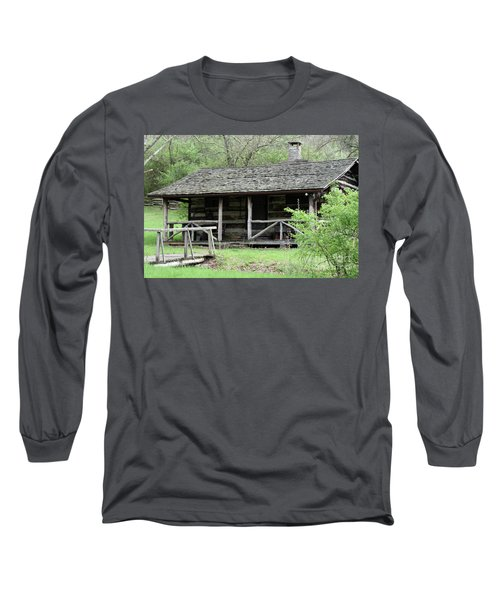 Lil Cabin Home On The Hill  Long Sleeve T-Shirt