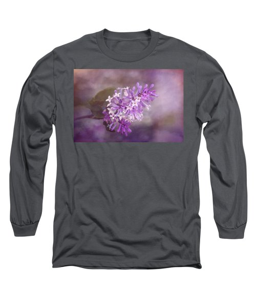 Long Sleeve T-Shirt featuring the photograph Lilac Blossom by Tom Mc Nemar