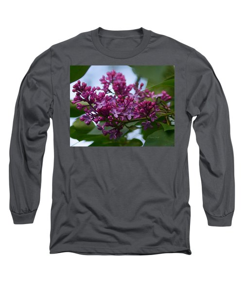 Lilac Buds Long Sleeve T-Shirt