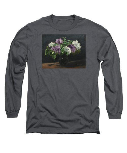 Lilacs Long Sleeve T-Shirt by Alan Mager