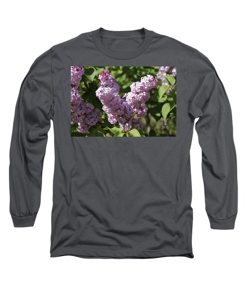 Long Sleeve T-Shirt featuring the digital art Lilacs by Antonio Romero