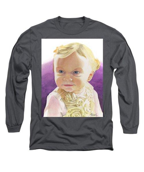 Lillian Long Sleeve T-Shirt by Ferrel Cordle