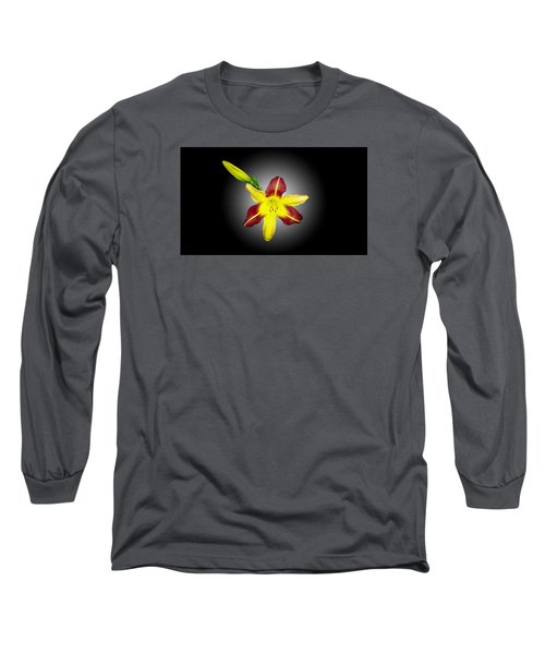 Lily And Bud Long Sleeve T-Shirt by Mike Breau
