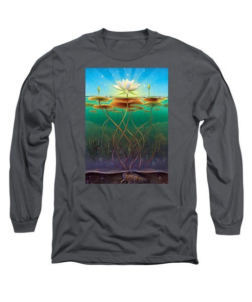Water Lily - Transmute Long Sleeve T-Shirt