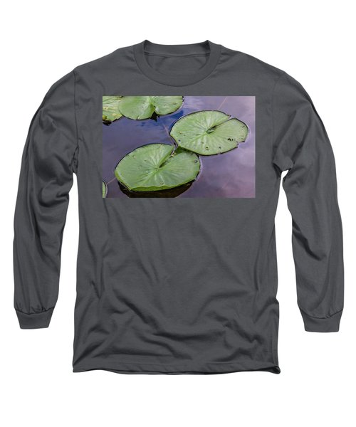 Lily Pad Reflections Long Sleeve T-Shirt