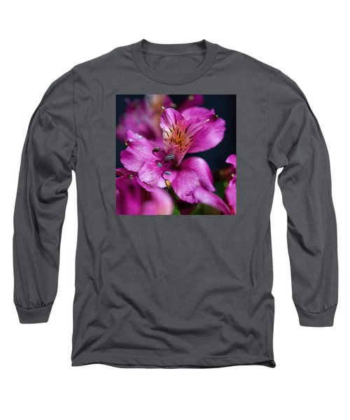 Long Sleeve T-Shirt featuring the photograph Lily by Susi Stroud