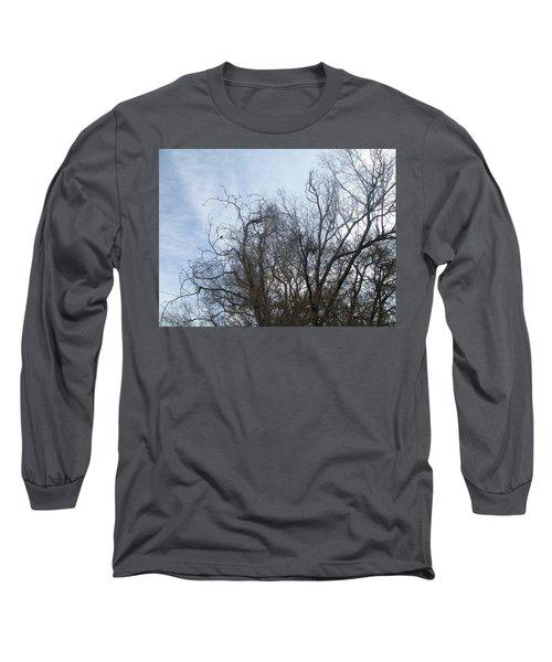 Limbs In Air Long Sleeve T-Shirt by Jewel Hengen