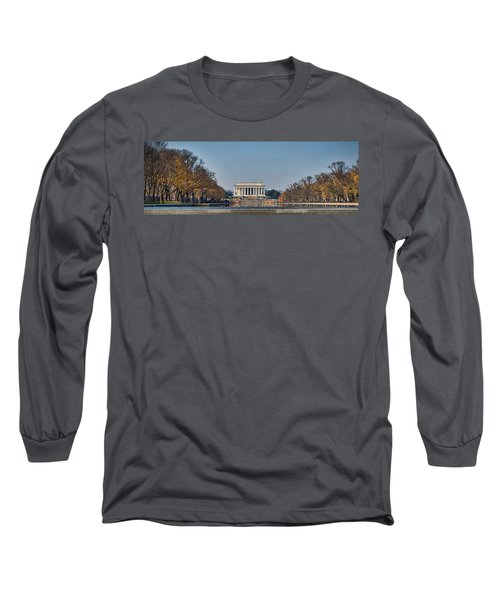 Lincoln From Afar Long Sleeve T-Shirt