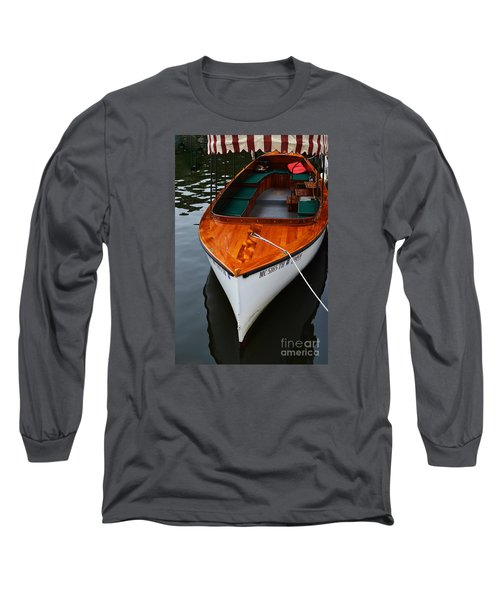 Lindy Lou Wood Boat Long Sleeve T-Shirt
