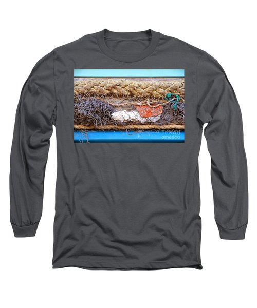 Line Of Debris Long Sleeve T-Shirt