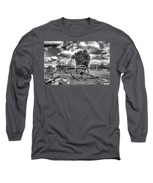 Long Sleeve T-Shirt featuring the photograph Line Of Fire by Paul W Faust - Impressions of Light
