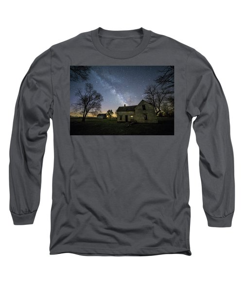 Long Sleeve T-Shirt featuring the photograph Linear by Aaron J Groen