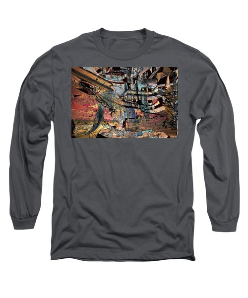 Lines And Colors Long Sleeve T-Shirt