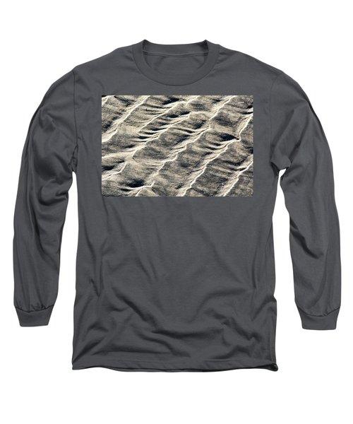 Lines On The Beach Long Sleeve T-Shirt