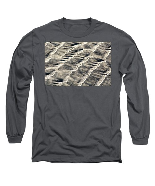 Lines On The Beach Long Sleeve T-Shirt
