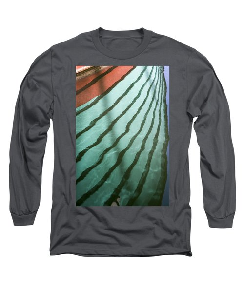 Lines On The Water Long Sleeve T-Shirt