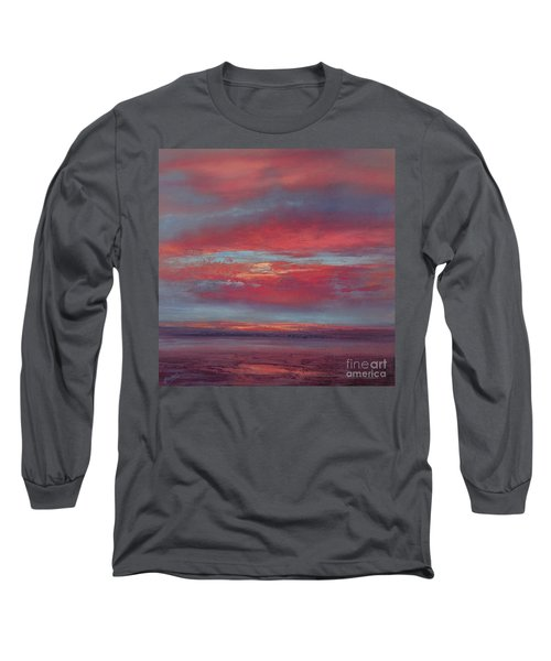Lingering Heat Long Sleeve T-Shirt by Valerie Travers