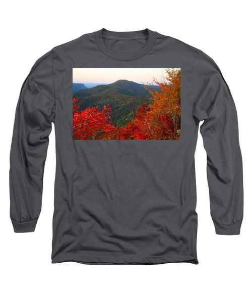 Long Sleeve T-Shirt featuring the photograph Linville Gorge by Kathryn Meyer