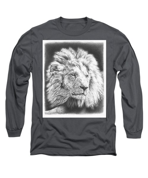 Fluffy Lion Long Sleeve T-Shirt