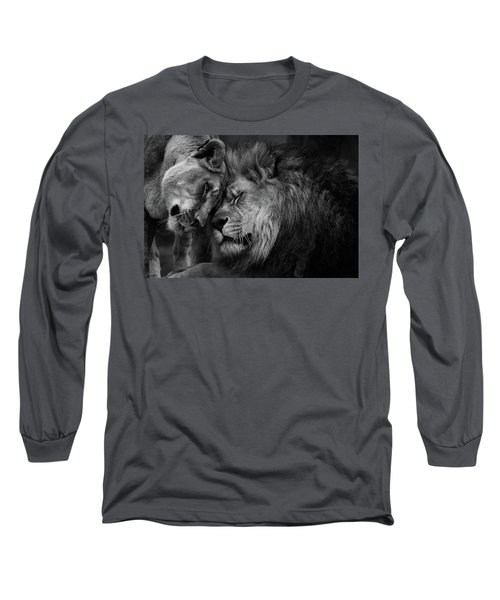 Lion In Love 2 Long Sleeve T-Shirt