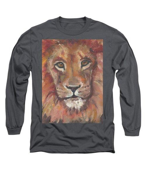 Lion Long Sleeve T-Shirt by Jessmyne Stephenson