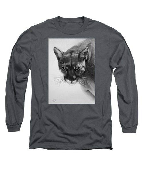 Lion Of The Andes Long Sleeve T-Shirt by Vishvesh Tadsare