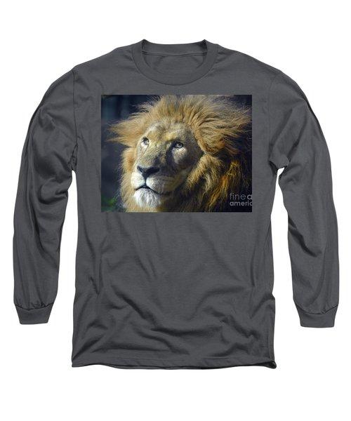 Lion Portrait Long Sleeve T-Shirt