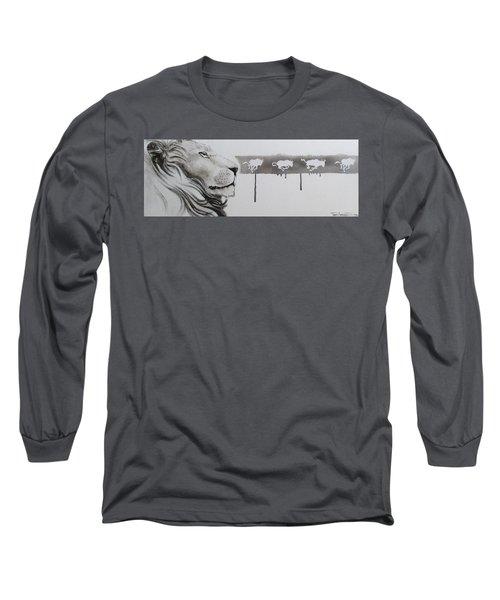 Lion Tears Long Sleeve T-Shirt
