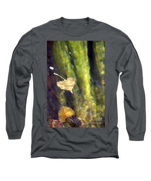 Liquid Leaves 1 Long Sleeve T-Shirt